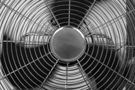 oscillate: Fan. Front Stock Photo