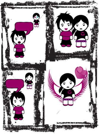 Emo amor Comics