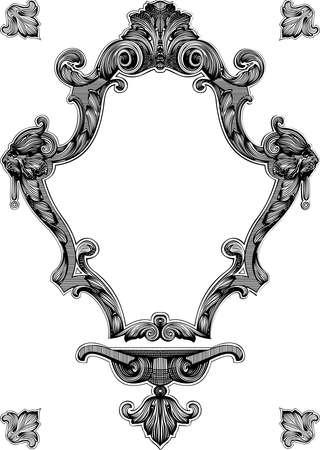 Decorative Vintage Royal Ornate Frame