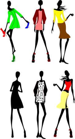 Seis Bocetos de diseño