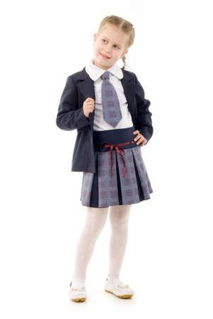 skirts: Poco Schoolgirl Foto de archivo