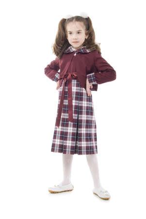 Little Schoolgirl Stock Photo - 5028013