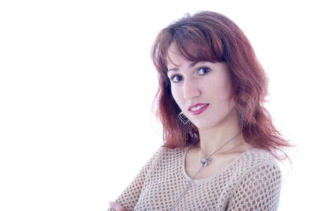 Brunette Girl  Portrait Stock Photo - 5077599