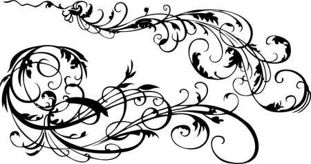 Decorative Vintage Ornate Banner. Vector Illustration.