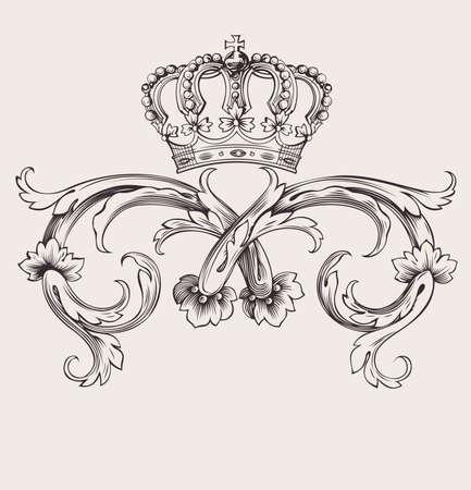 Een Color Royal Crown Vintage Curves Banner