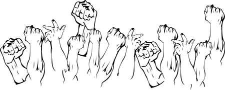 Revolution Hands Up