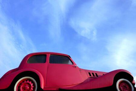 oldtimer at car show photo
