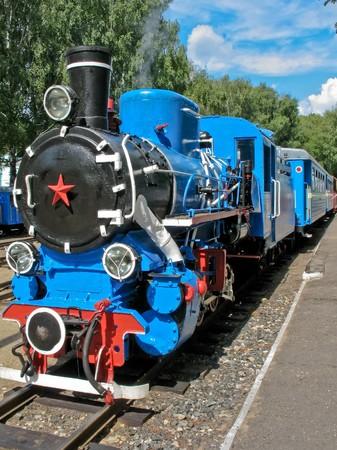 Blue engine Stock Photo - 7923413