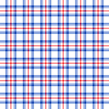 country kitchen: Blue, red and white plaid background