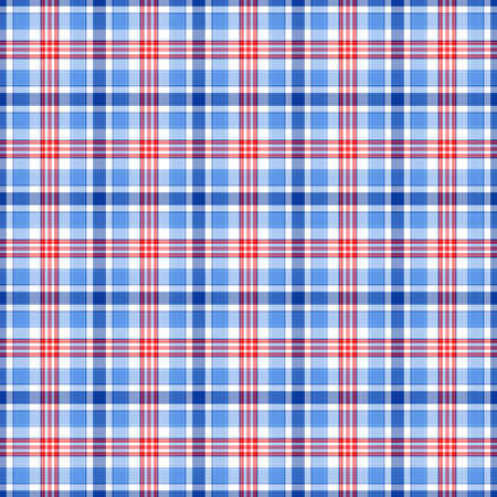 red plaid: Blue, red and white plaid background