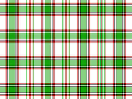 red plaid: White, green and red plaid background