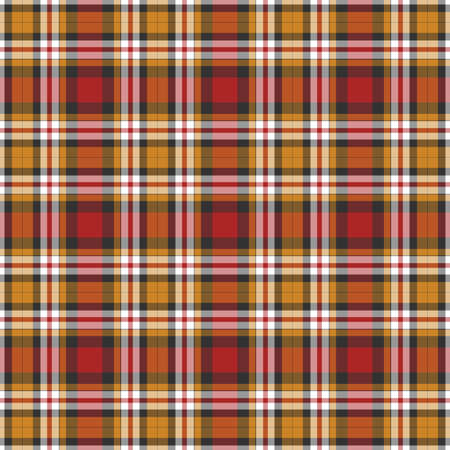 country kitchen: Black, yellow, red and white plaid background