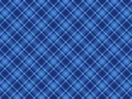Plaid background colored gradations of blue