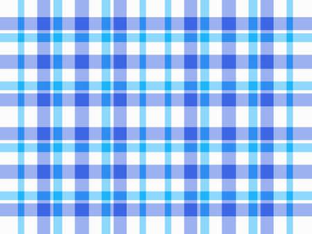 Blue and white plaid background Reklamní fotografie
