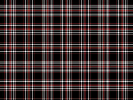 Red, white and black plaid background