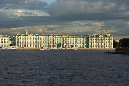 The State Hermitage Museum in Saint Petersburg, Russia
