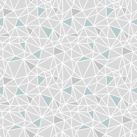 Vector abstract low poly seamless pattern
