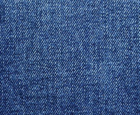 Blue jeans texture closeup, denim background