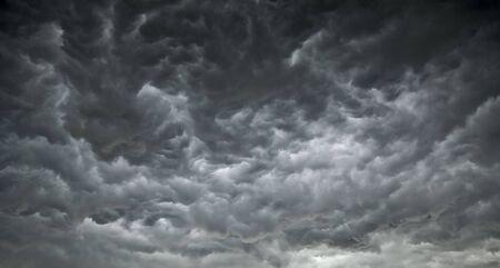 Dark, Ominous Clouds Promise Poor Weather Stock Photo - 6276664