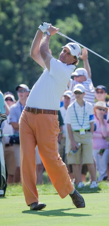 BETHESDA, MD - JUNE 14: Phil Michelson at Congressional during the 2011 US Open on June 14, 2011 in Bethesda, MD.