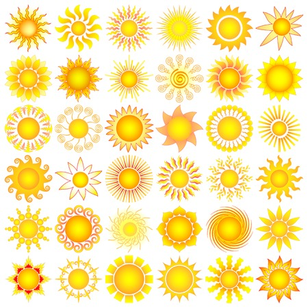 symbolic sun collection