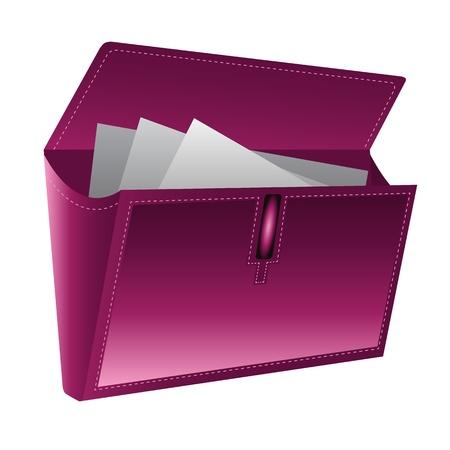 data base: Folder Icon isolatd on white