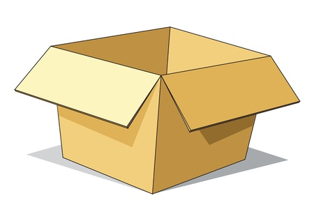 Cartoon Carton Box