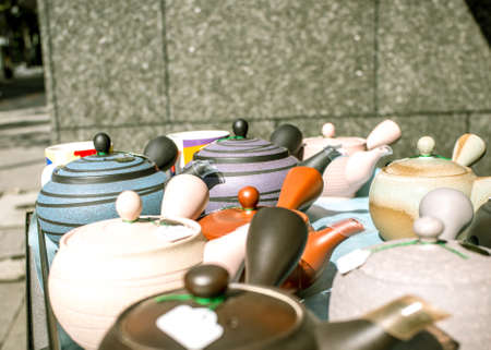 Stall of Teapots in Tokyo