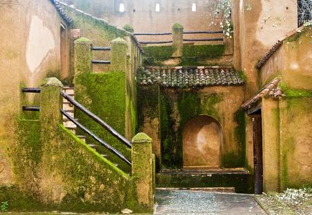 Arabische Kloster innen Fassade Standard-Bild - 10005578