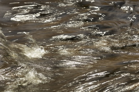Muddy Water Stream Background
