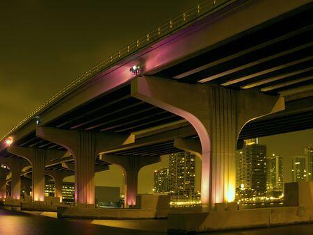 Dramatic Surreal Causeway Reklamní fotografie