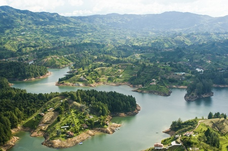 Guatape Lake, Colombia Stock Photo - 10678003