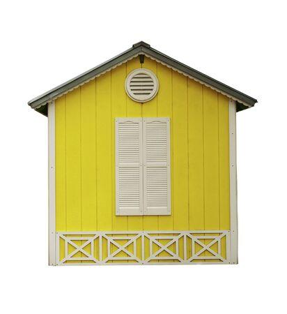 Small Yellow Hut Stock Photo - 10727802