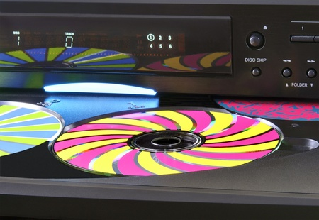 played: Colorful Cds Ready to be Played