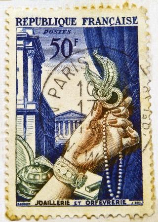 Commemorative French Stamp, Circa 1938