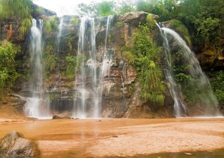 Las Cuevas Waterfalls at Santa Cruz, Bolivia