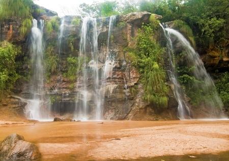 Las Cuevas Waterfalls at Santa Cruz, Bolivia Banco de Imagens - 10984708