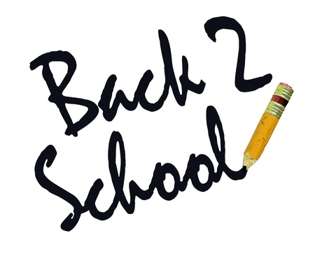 deteriorated: Back to School Worn out Pencil