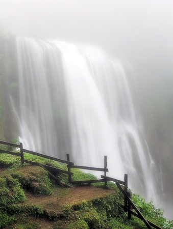 Waterfalls in the Mist Stock Photo - 11233261