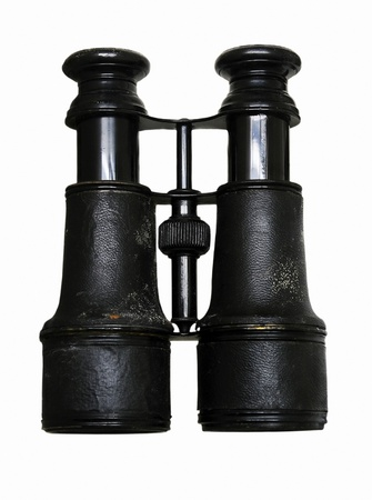 antique binoculars: Vintage Binoculars Isolated