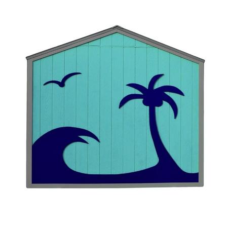 Tropical Blue Hut photo
