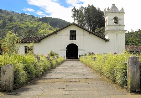 rica: Ancient Historic Church at Orosi, Costa Rica