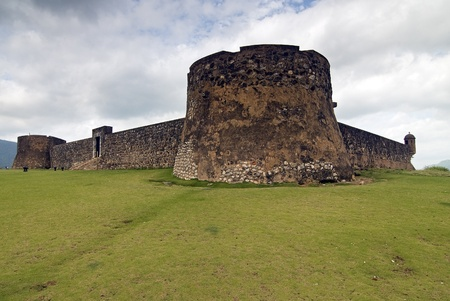 San Felipe Fortress at Puerto Plata, Dominican Republic Editorial