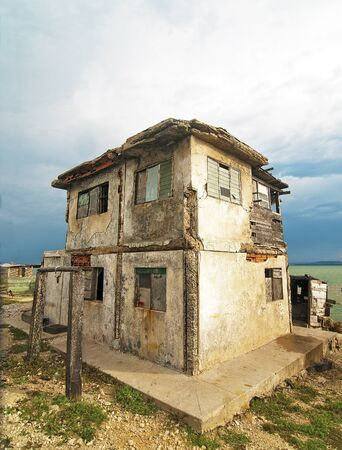 Abandoned House by the Sea Stock Photo - 13116472