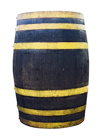 Single Liquor Barrel Stock Photo - 13165276