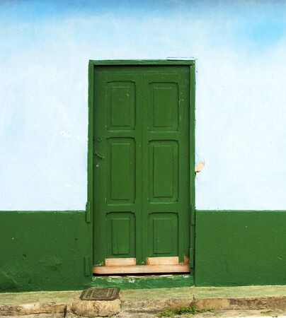 Rustic Door Facade Stock Photo - 13549442