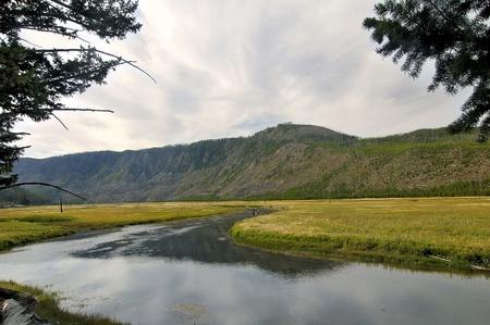 Yellowstone River, Montana, USA Stock Photo - 13549444