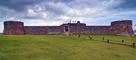 Ancient San Felipe Fortress at Puerto Plata, Dominican Republic Stock Photo - 13558751