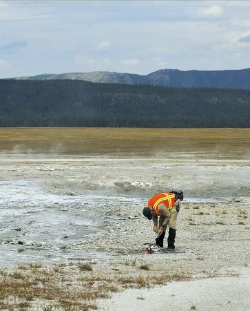 Yellowstone Ranger on Duty
