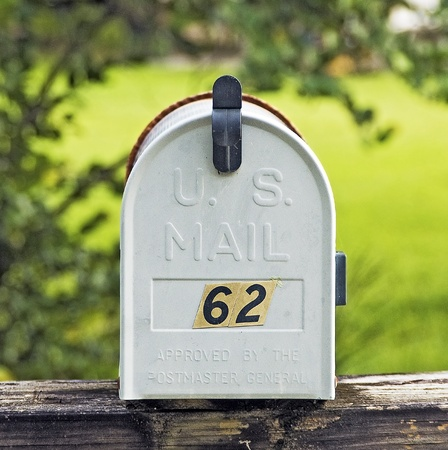 Lonely Mailbox in the Country Side